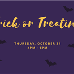 regular trick or treating hours
