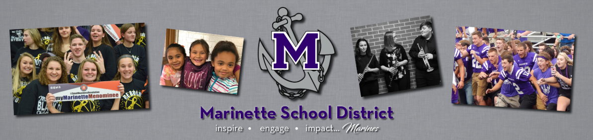 Marinette School District Home Page Opens in new window